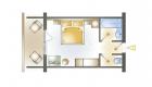 Doppel- od. Dreibettzimmer