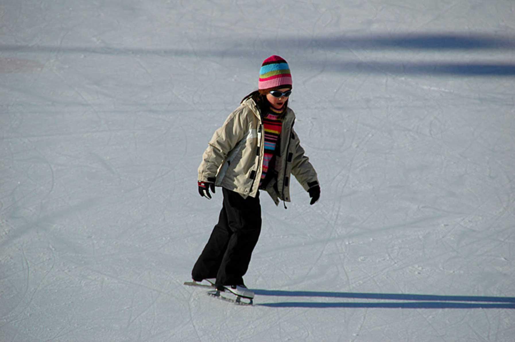 Eislaufen in Wagrain