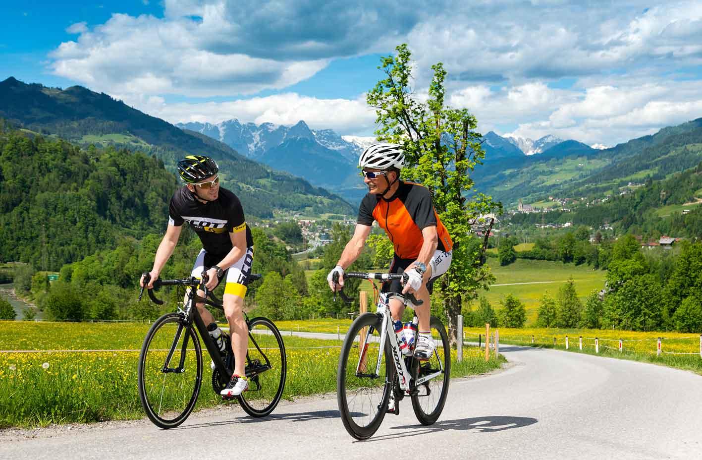 Radfahren in St.Johann