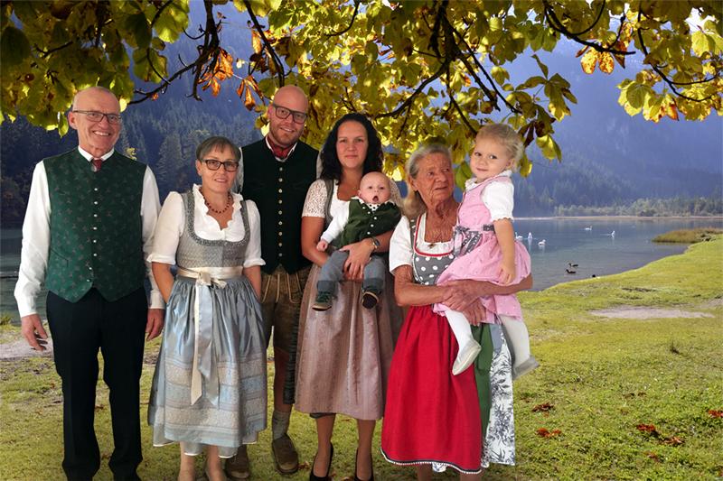 Familie Tiefenbacher im Wanderhotel Erika